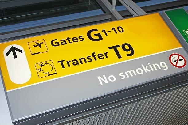 Запрет курения в аэропорту